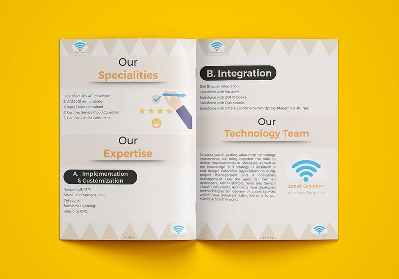 إنشاء و تصميم ملف تعريفي للشركات